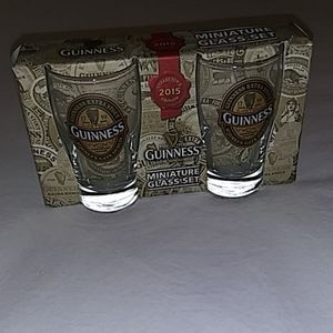 {Guinness} Collector's Edition Mini Pint Glass Set